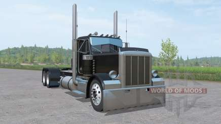 Peterbilt 379 Day Cab lowerd v2.0 para Farming Simulator 2017