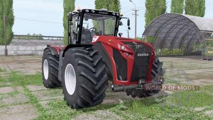 CLAAS Xerion 4500 Trac VC Red Design para Farming Simulator 2017