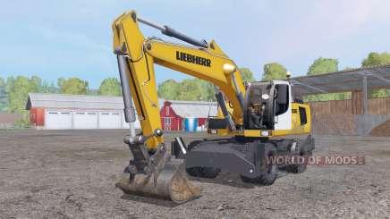 Liebherr A 936 C Litronic para Farming Simulator 2015