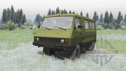 UAZ 3972 Carro para Spin Tires