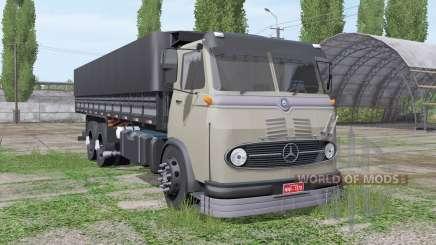 Mercedes-Benz LP 321 3-axle para Farming Simulator 2017
