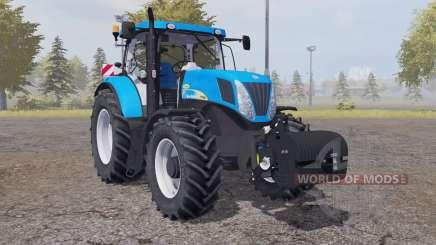 New Holland T7040 weight para Farming Simulator 2013