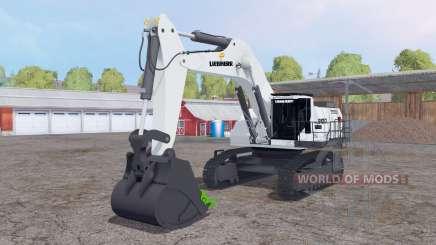 Liebherr R 9100 v1.1 para Farming Simulator 2015