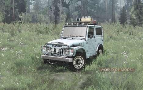 Suzuki LJ80 Hard Top 1978 para Spintires MudRunner