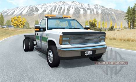 Gavril D-Series flatbed para BeamNG Drive