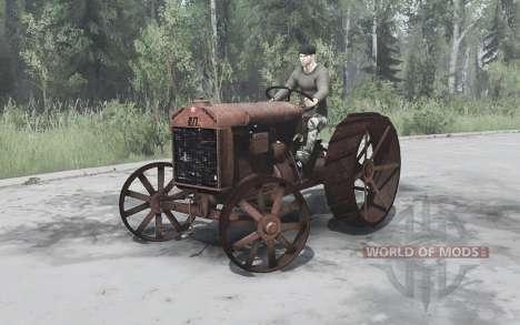 Fordson-Putilovets para Spintires MudRunner