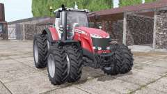 Massey Ferguson 8732 new sound para Farming Simulator 2017