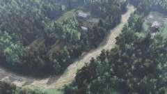 A estrada para o lago Branco