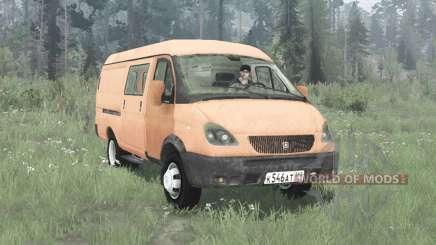 GAZ 2705 Gazela 2003 para MudRunner