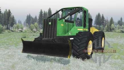 John Deere 748H v1.1 para Spin Tires