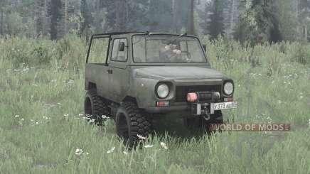 LuAZ 969M 4x4 para MudRunner