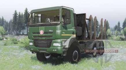 Tatra Phoenix T158-8P5 6x6 2011 para Spin Tires