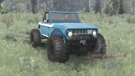 Ford Bronco crawler para MudRunner