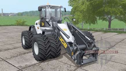 JCB 435S double wheels v1.0.0.1 para Farming Simulator 2017