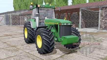 John Deere 8400 more realistic para Farming Simulator 2017