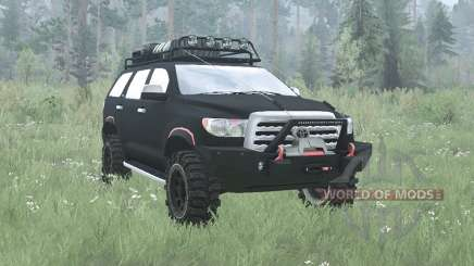 Toyota Sequoia 2008 off-road v2.0 para MudRunner