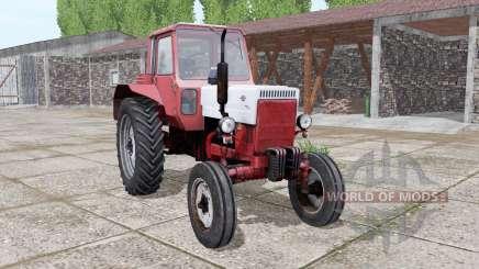 MTZ 80 Bielorrússia vermelho-branco para Farming Simulator 2017