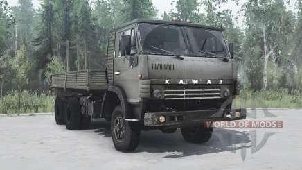 KamAZ 4310 6x6 verde para MudRunner