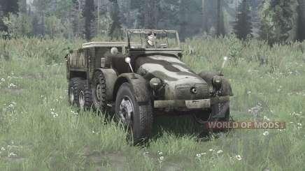 Krupp L 2 H 43 Kfz.70 v2.0 para MudRunner