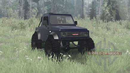 Suzuki Samurai 1990 crawler para MudRunner