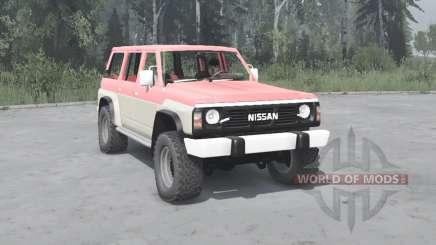 Nissan Patrol GR 5-door (Y60) 1987 para MudRunner