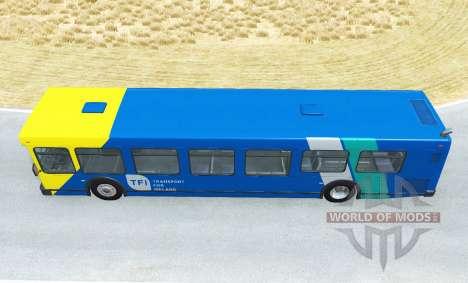 Wentward DT40L Dublin Bus skin pack v1.4 para BeamNG Drive