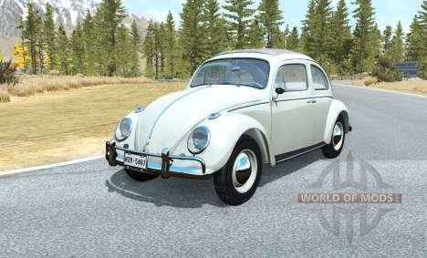 Volkswagen Beetle 1963 v1.1 para BeamNG Drive
